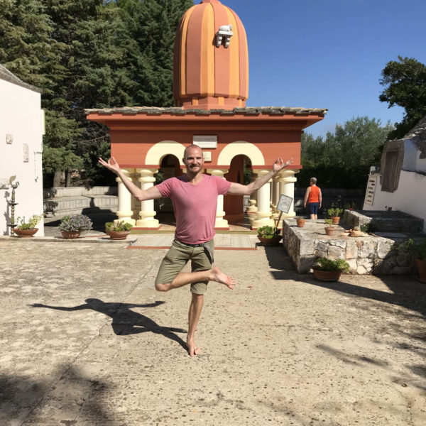 Gay Yoga Holiday Ashram visit