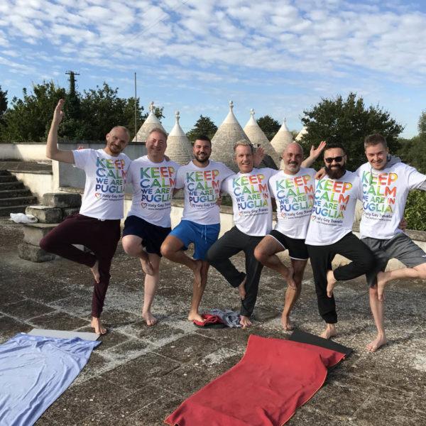 Gay Yoga Holiday Fun