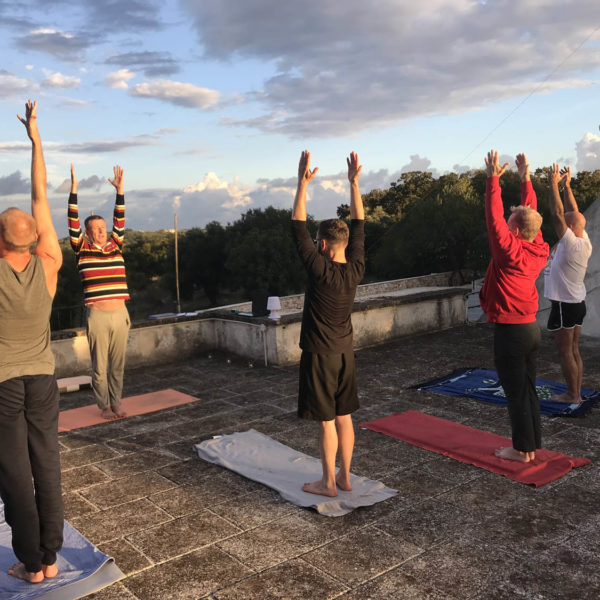 Gay Yoga Holiday Sun Salutaion