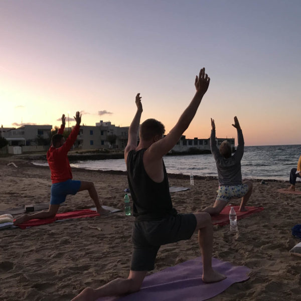 Gay Yoga Holiday on the beach