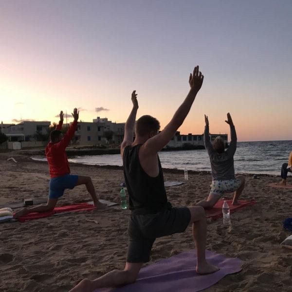 Gay Yoga Holiday on the beach