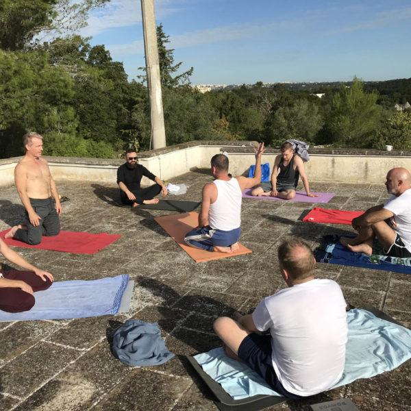 Gay Yoga Retreat Male Bonding