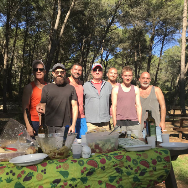 Gay Yoga Retreat Picnic