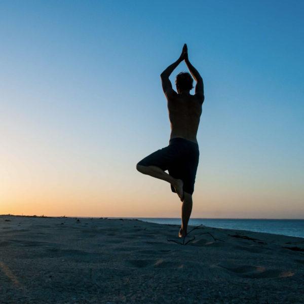 Gay Yoga Tour Italy Pose