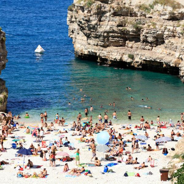 Polignano a Mare Puglia Italy. Image shot 07/2009. Exact date unknown.