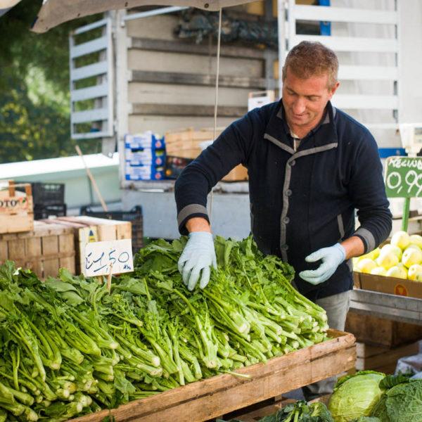 Ostuni food market, Ostuni, Puglia, Italy