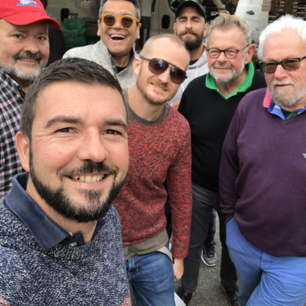 Gay Foodies Tour in the market