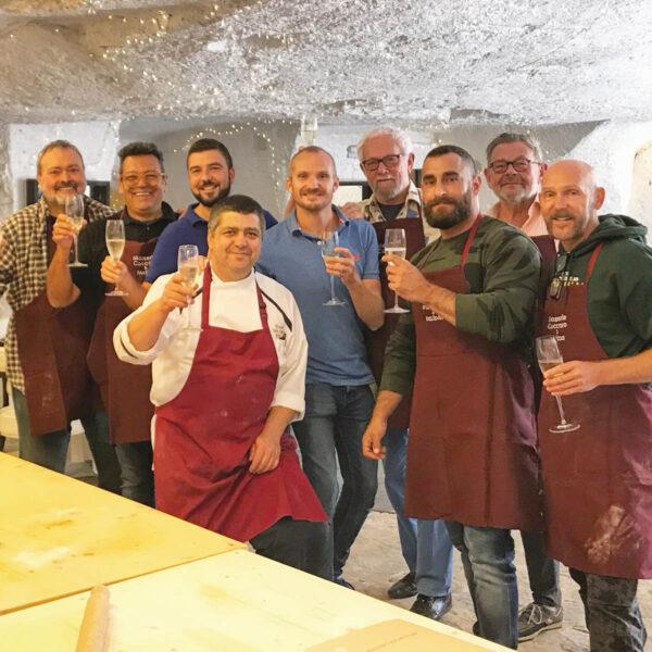 Gay Foodies Tour team work