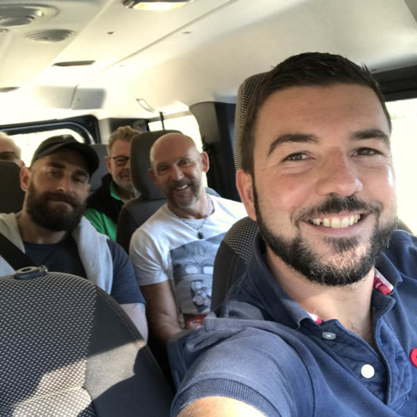 Gay Foodies Tour transport