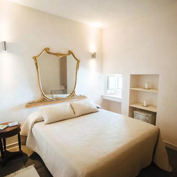 Gay foodies tour exclusive Masseria bedroom