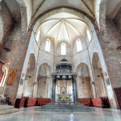 DKP7PR Cathedral of Santa Maria Maggiore, Barletta, Apulia, Italy