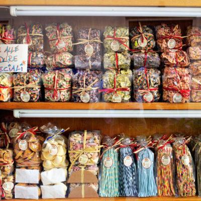 Lecce pasta shop Apulia, Italy