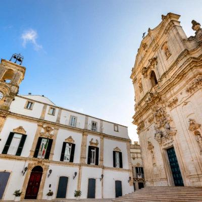Martina Franca, Puglia. Basilica of San Martino