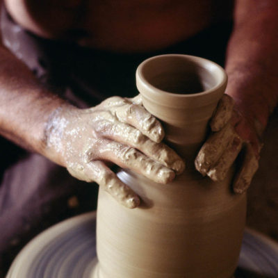 Pottery in Grottaglie, Apulia, Italy