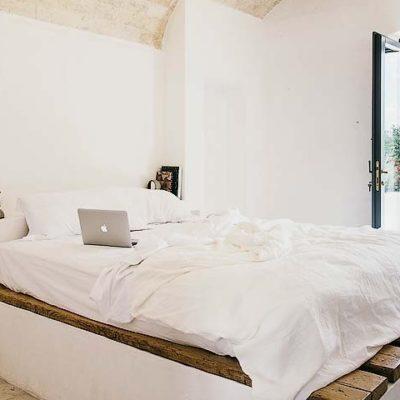 Bedroom Masseria Moroseta