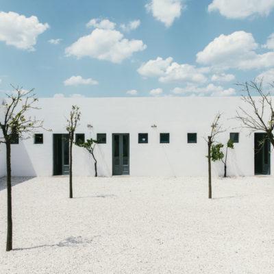 Courtyard Masseria Moroseta