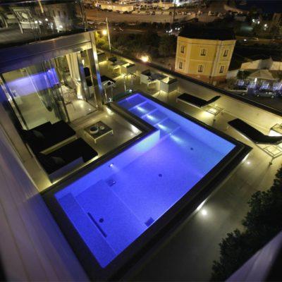 Hotel Palazzo Del Corso rooftop swimming pool