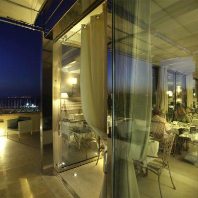 Hotel Palazzo Del Corso view over the bay
