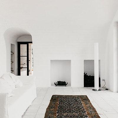Living Room Masseria Moroseta