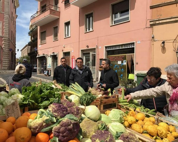 Discover Rome, fresh produce to plate