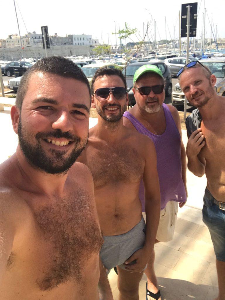 from Nico sailing gay