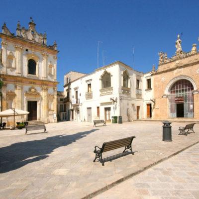 Sedile palace, Salandra square, Nardo, Salentine Peninsula, Apulia, Italy