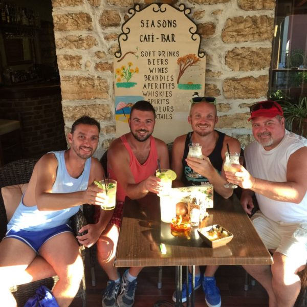 Drinks in Paxos All Gay Sailing