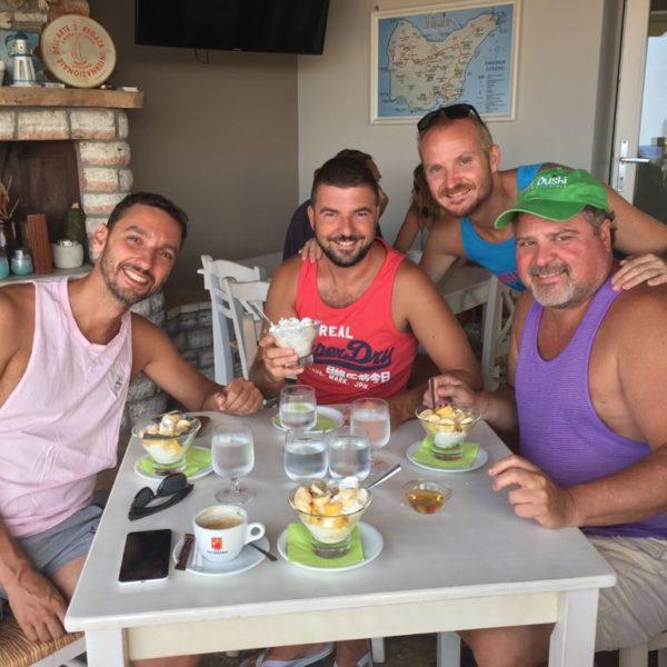 Greek food gnam gnam all gay sailing