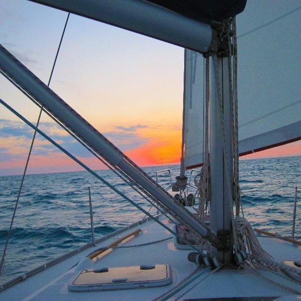 Sail boat gay sailing