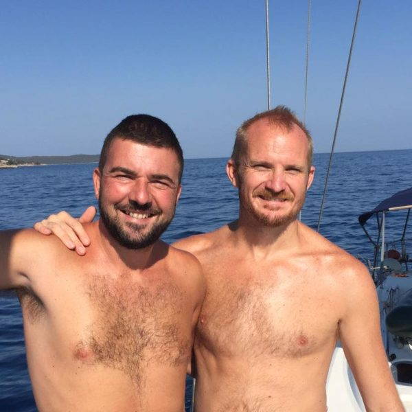 All gay Sail Trip around Mykons with Italy Gay Travels