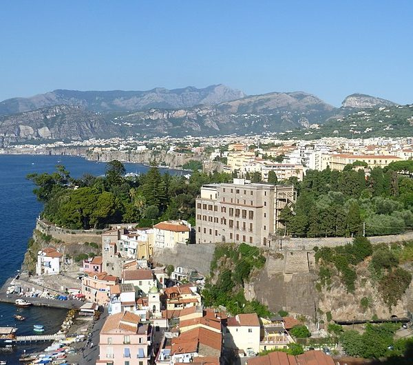 Gay Naples View of Sorrento
