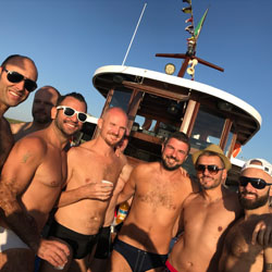 Italy Gay Summer Pride Boat Party