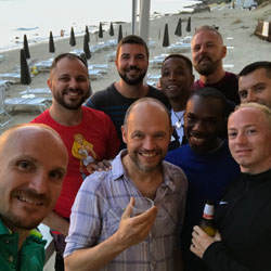 Italy Gay Summer Pride Sunset Party