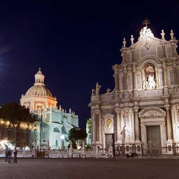 Gay Sicily Catania Piazza del Duomo