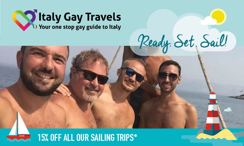 Gay Sail with Italy Gay Travels