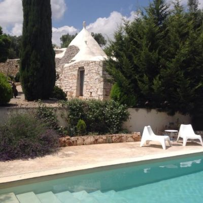 Gay BnB Ostuni Pietrefitte swimming